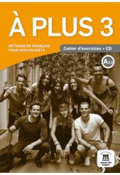 A plus 3 A2.2 Cahier d'activités et CD audio