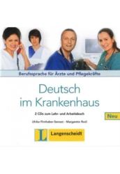 Deutsch im Krankenhaus 2 CDs zum Lehr- und Arbeitsbuch