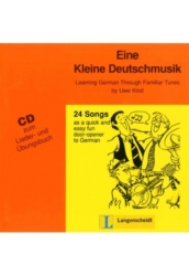 Eine kleine Deutschmusik CD zum Lieder- und Übungsbuch
