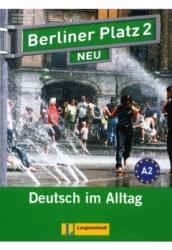 Berliner Platz 2 Neu Lehr- und Arbetisbuch + 2 Audio-CDs + Treffpunkt D-A-CH