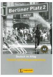 Berliner Platz 2 Neu Testheft mit Prüfungsvorbereitung + Audio-CD