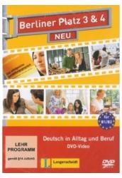 Berliner Platz 3&4 Neu DVD Deutsch in Alltag und Beruf