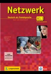 Netzwerk A1. in Teilbänden Kurs und Arbeitsbuch, Teil 1 mit 2 Audio-CDs und DVD