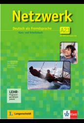 Netzwerk A2. in Teilbänden Kurs- und Arbeitsbuch, Teil 1. mit 2 Audio-CDs und DVD