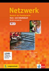 Netzwerk B1. in Teilbänden Kurs- und Arbeitsbuch, Teil 1 mit 2 Audio-CDs und DVD