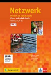 Netzwerk B1. in Teilbänden Kurs- und Arbeitsbuch, Teil 2. mit 2 Audio-CDs und DVD