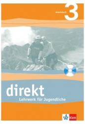 Direkt Arbeitsbuch 3 mit Audio-CD