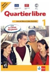 Quartier libre 1 Livre de l'éléve CD et DVD et Magazie