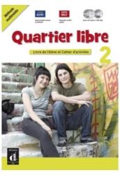 Quartier libre 2 Livre de l'éléve CD et DVD et Magazie