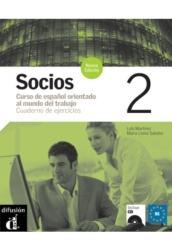Socios 2. Nueva edícia Cuaderno de ejercicios