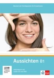 Aussichten B1 Arbeitsbuch + Audio-CD + DVD