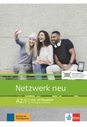 Netzwerk neu A2.1 Kurs  und Übungsbuch mit Audios und Videos