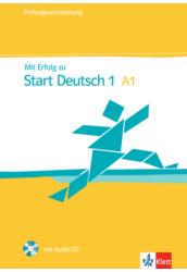 Mit Erfolg zu Start Deutsch 1 A1 Übungs- und Testbuch + Audio-CD
