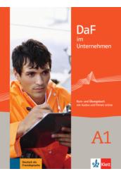 DaF im Unternehmen A1 Tankönyv és munkafüzet ( +MP3 kód)