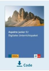 Aspekte junior B2 Digitales Unterrichtspaket