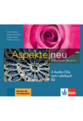 Aspekte neu B2 3 Audio CDs zum Lehrbuch