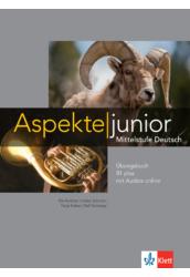 Aspekte junior B1 plus Übungsbuch mit Audios online
