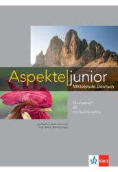 Aspekte junior B2 Übungsbuch mit Audios online