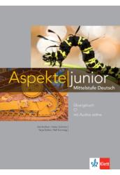 Aspekte junior C1 Übungsbuch mit Audios online