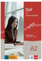 DaF im Unternehmen A2 Medienpaket (2 Audio-CDs + DVD)