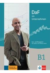 DaF im Unternehmen B1 Kurs-  und Übungsbuch mit Audios und Filmen online