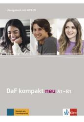 DaF Kompakt neu A1 B1 Übungsbuch mit 2 MP3 CD