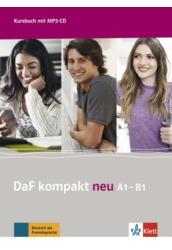 DaF Kompakt neu A1 B1 Kursbuch mit 3 MP3 CD