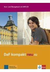 DaF Kompakt neu A2 Kurs  und Übungsbuch mit MP3 CD
