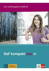 DaF Kompakt neu B1 Kurs  und Übungsbuch mit MP3 CD