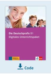 Die Deutschprofis B1 Digitales Unterrichtspaket