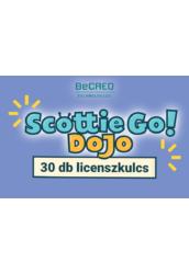 Scottie Go Dojo 30 db licenszkulcs egyéves hozzáféréssel