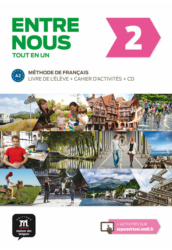 Entre nous 2 – Livre de l'éleve Cahier d'activités et CD audio