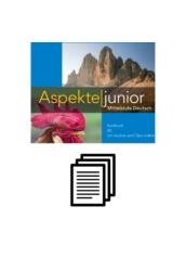 Aspekte junior B2 - Tankönyv hanganyagának átirata