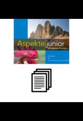 Aspekte junior B2 - Wortliste alphabetisch
