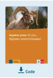 Aspekte junior B1 plus Digitales Unterrichtspaket