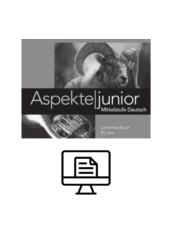Aspekte junior B1 plus Lehrerhandbuch - digital