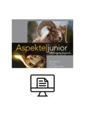 Aspekte junior B1 plus Übungsbuch - digital