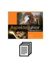 Aspekte junior B1 plus - Wortliste chronologisch
