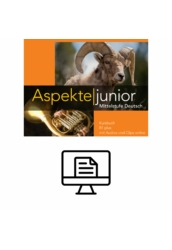 Aspekte junior B1 plus Kursbuch - digital