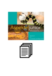 Aspekte junior C1 - Arbeitsblätter und Kopiervorlagen