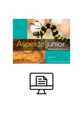 Aspekte junior C1 Kursbuch - digital
