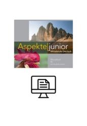 Aspekte junior B2 Übungsbuch - digital