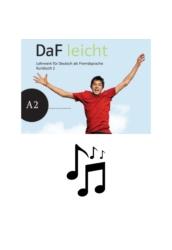 DaF leicht A2 Prüfungstrainer - Audios