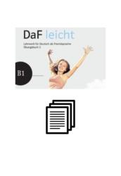 DaF leicht Übungsbuch 3 - Lösungen