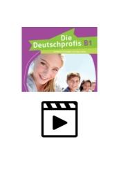 Die Deutschprofis B1 - Hanganyag és videoklipek