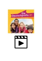 Die Deutschprofis A1 -  Hanganyag és videoklipek