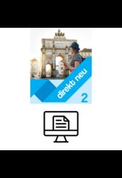 Direkt Neu Kursbuch 2 - Online lapozható verzió