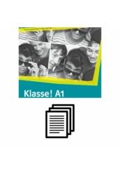 Klasse! A1 Kursbuch - Hanganyag transzkripciója