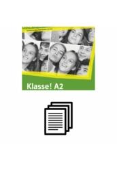 Klasse! A2 Kursbuch - Fénymásolható nyelvtani feladatok