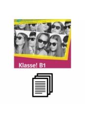 Klasse! B1 Kursbuch - Hanganyag transzkripciója